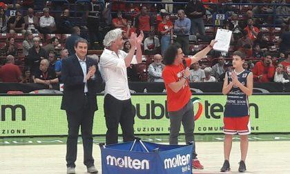 Basket Corbetta premiato alla festa dell'Olimpia