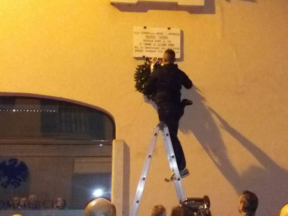 Castano, commemorazione Mario Tadini