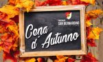 Cena d'autunno sabato 27 per la Contrada San Bernardino