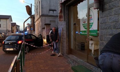 Attacco vandalico contro la sede della lista del sindaco a Cogliate