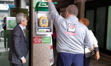Ecco il primo condominio con defibrillatore dell'Altomilanese