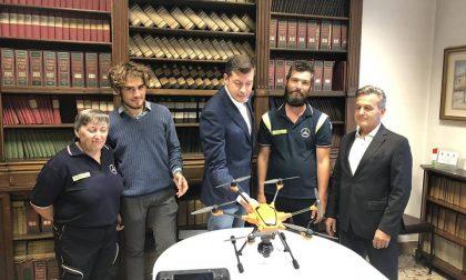 Un drone per la Prociv. Servirà anche contro gli spacciatori