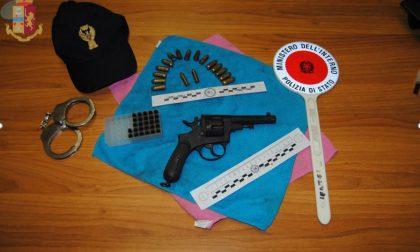Sequestrato revolver: era una pistola della Grande Guerra