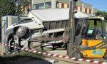 Garbagnate, scontro furgone-auto nella zona industriale: due feriti gravi