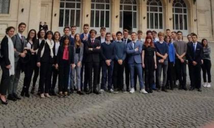 Delegazione del Bernocchi dal Presidente Mattarella