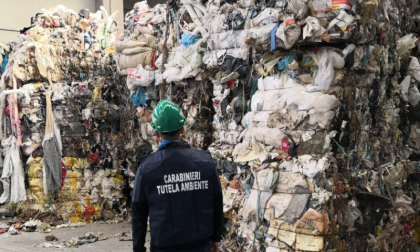 Sequestrato capannone adibito a discarica ad Arluno VIDEO