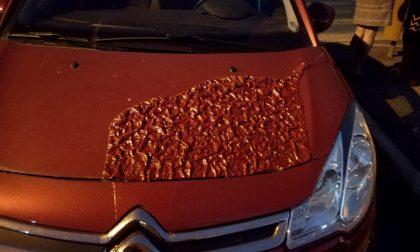 Acido sull'auto della preside: solidarietà dell'istituto legnanese