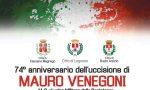 Cerimonia in ricordo di Mauro Venegoni domenica 28 ottobre