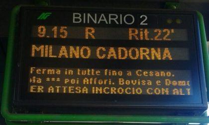 Treni in ritardo: pesanti disagi sulla linea Saronno–Albairate e Chiasso–Milano