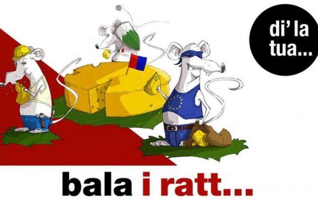 &#8220&#x3B;Bala i Ratt&#8221&#x3B;, destra ticinese contro i frontalieri e l&#8217&#x3B;Europa