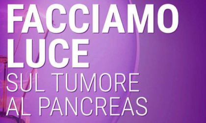 Tumore al pancreas, Uboldo s'illumina di viola