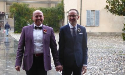 Fiori d'arancio a Vanzago: Valerio e Giovanni hanno detto sì
