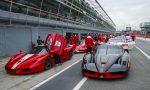 Un weekend rosso Ferrari al Monza Eni Circuit FOTO VIDEO