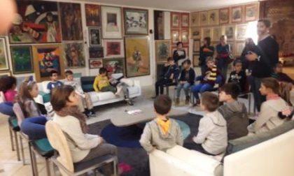 Bambini artisti per un giorno a Tradate - FOTO