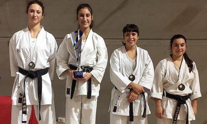 Karate, la gaggianese Raissa Varieschi ricomincia da un argento