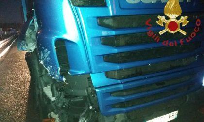 Incidente sulla A9 nel tratto Turate-Lomazzo FOTO