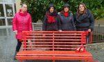 Violenza sulle donne, a Cislago panchina rossa davanti al Municipio