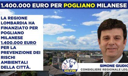 Regione Lombardia: 1,4 milioni per prevenzione rischio ambientale a Pogliano