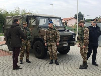 Esercito nel Parco delle Groane