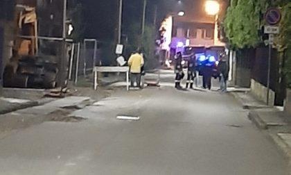 Fuga di gas a San Vittore Olona, accertamenti in corso