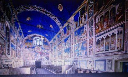 La cappella di Giotto arriva a Tradate in scala ridotta