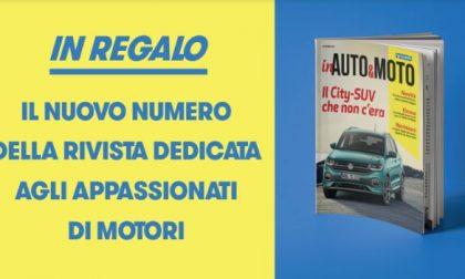 """Si rinnova l'appuntamento con """"inAuto&Moto"""": da oggi in regalo con tutte le edizioni di Settegiorni"""