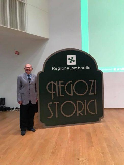 Carlo Ronzio entra nell&#8217&#x3B;albo dei negozi storici regionali
