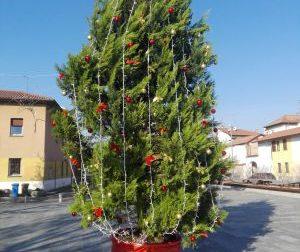 Cade l'albero di Natale a San Giorgio su Legnano