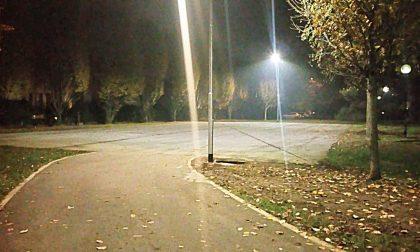 Nuova illuminazione a Saronno, in via Fiume e a Cassina Ferrara