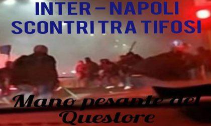 Inter-Napoli: scontri tra gli ultras, morto tifoso di Varese, curva chiusa