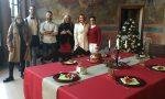 Tavola di Natale e presepe tradizionale a Magenta