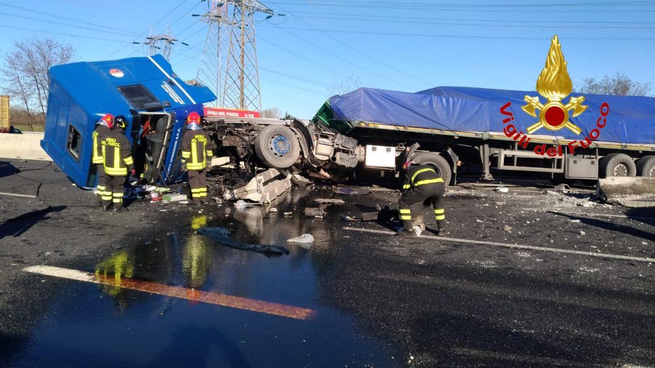 Gravissimo incidente sull
