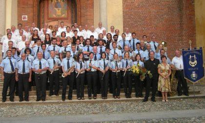 Banda di Rosate in concerto: posti riservati... sul palco