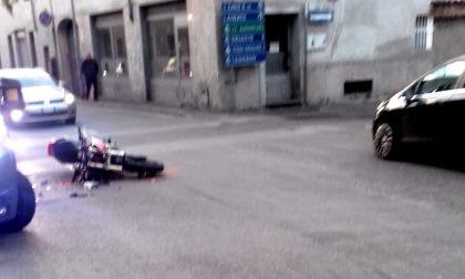 Incidente a Cantalupo, motociclista in ospedale