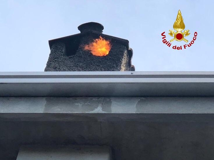 incendio canna fumaria