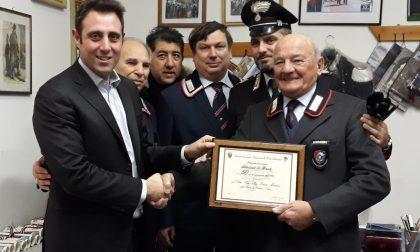 Carabinieri per sempre, attestati di fedeltà a Castano FOTO