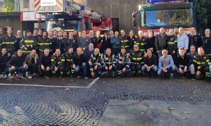 Vigili del fuoco in festa ricordano Raimondi FOTO