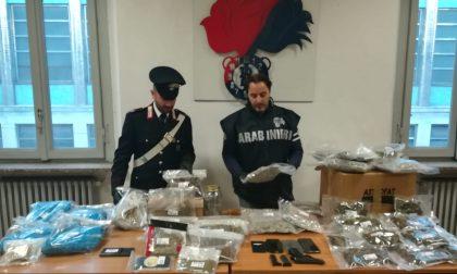 Due arresti a Saronno: sotto sequestro 9 chili di droga e una pistola