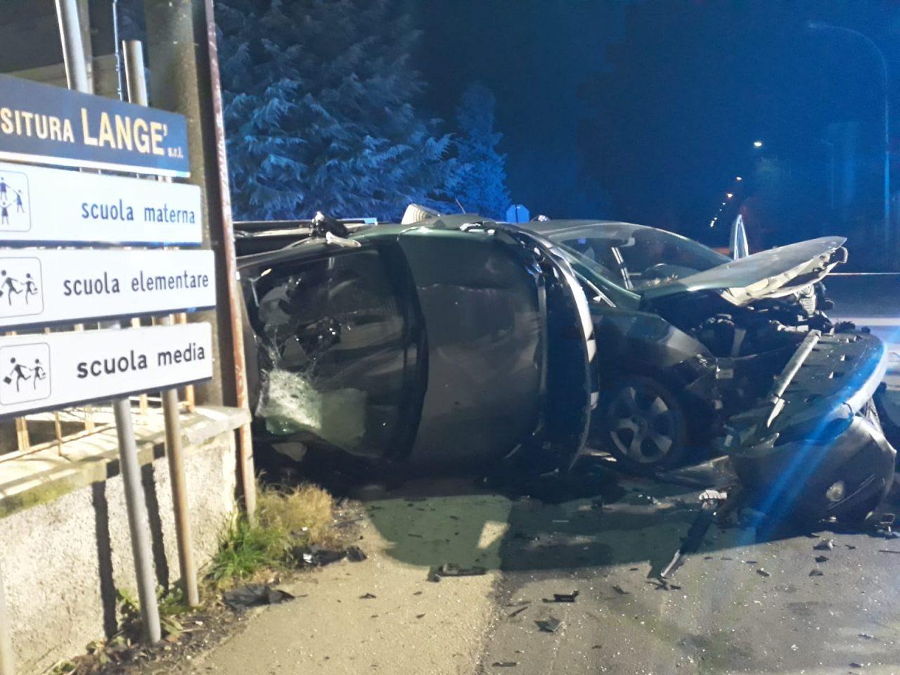 Incidente stradale a Robecchetto
