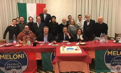 Fratelli d'Italia, brindisi natalizio e complimenti alla giunta