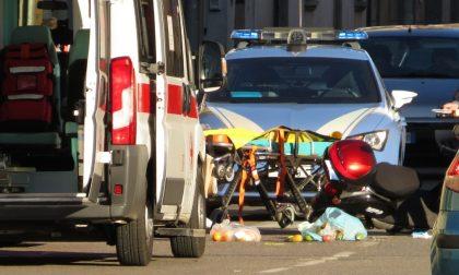 Incidente a Legnano, 73enne sullo scooter finisce in ospedale