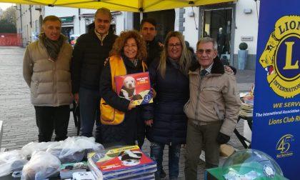 Lions Club Host Rho in piazza per raccogliere fondi per i cani guida