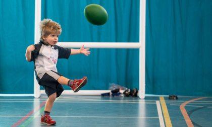Dopo 300 giorni in ospedale il piccolo Simone torna a giocare a rugby