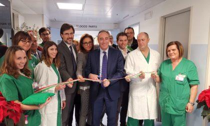 Inaugurate le nuove sale parto dell'ospedale di Rho FOTO