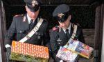 Sequestro fuochi d'artificio: ne aveva 250 kg nel box FOTO