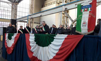 Il discorso del sindacodi Legnano alla commemorazione degli operai della Franco Tosi