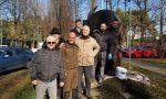 Imbrattato il monumento ai paracadutisti a Saronno: ripulito FOTO