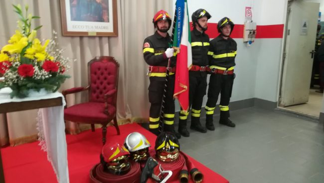 Vigili del fuoco di Corbetta in festa VIDEO