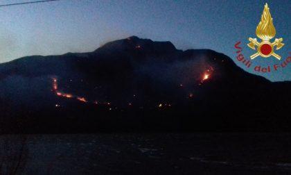 Allerta vento codice rosso nel Comasco per rischio incendi