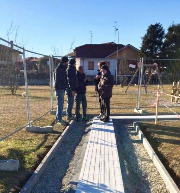 Castano Primo, sopralluogo Aila al Parco Sciaredo